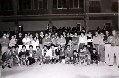 Palio contrade torneo di calcio anni 80 Cene Bergamo