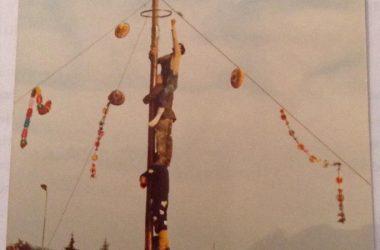 Palo della cuccagna Brusaporto 1980