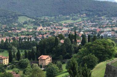 Panorama Castello di Valverde - Bergamo