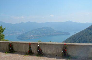 Panorama da Parzanica Bergamo