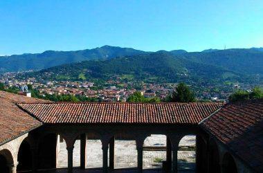 Panorama dal Convento di San Francesco Bergamo