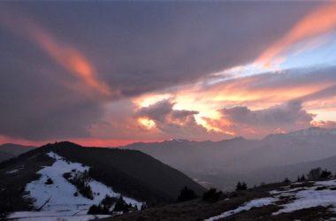 Panorama dalla Poiana di Gandino