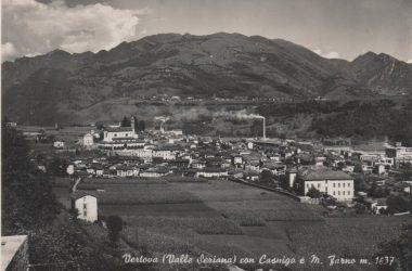 Panoramica Vertova e Casnigo