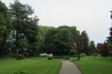 Parco di villa Allegreni a Martinengo