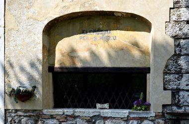 Particolare Chiesa di san Rocco Albino