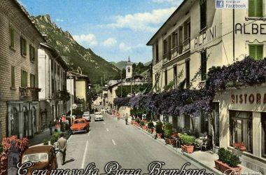 Piazza Brembana Via Bortolo Belotti anni 60
