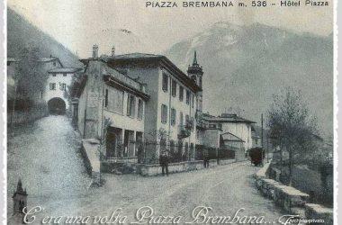 Piazza Brembana... (Via Bortolo Belotti fine anni 30)