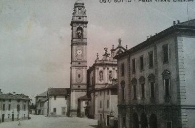 Piazza Vittorio emanuele Osio Sotto Anni 30