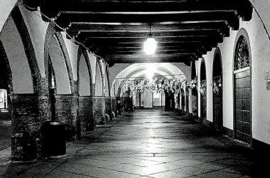 Piazza del comune Caravaggio