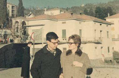 Piazza di Berbenno nel 1969