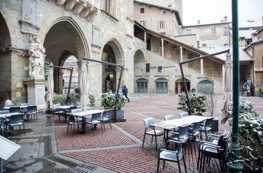 Piazza di Bergamo alta