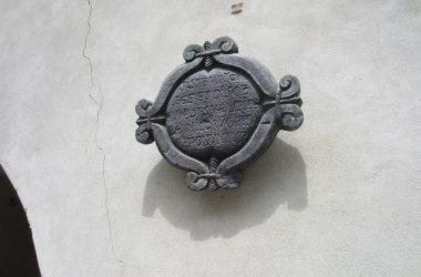 Pietra Palazzo Pretorio di Vilminore di Scalve