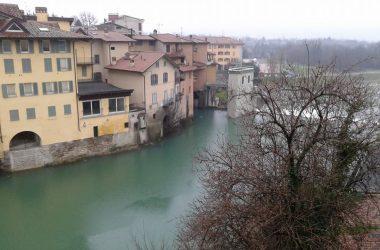 Ponte San Pietro Fiume Brembo