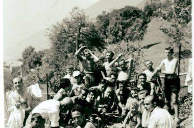 Ponte San Pietro nel 1949