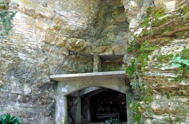 Ponteranica Bg la Grotta della Madonna di Lourdes