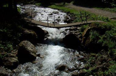 Ponticello Spiazzo dell'acqua Gandellino