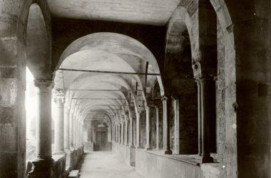 Porticato antico Convento di San Francesco Bergamo