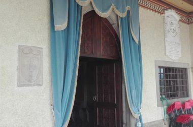 Portone Santuario Madonna dello Zuccarello - Nembro