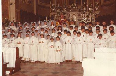Prime comunioni 1979 Brembate Sopra