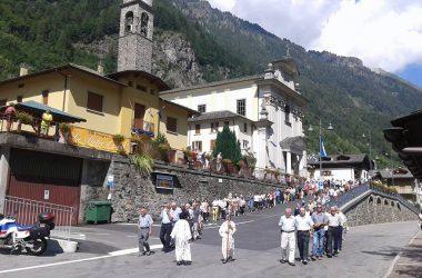 Processione Madonna del Rosario - Carona