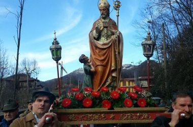 Processione San Biagio Caprino Bergamasco