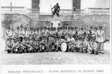 Raduno Provinciale Alpini - Sorisole 1969