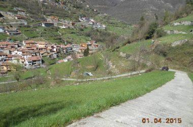 Rampa estrema Cementata in località Tromaghe (Adrara S. Rocco)