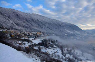 Ranzanico sotto la neve