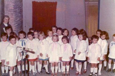Recita Asilo bambini del 1969 Presezzo