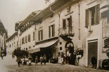 Ristorante Centrale Gandino anni 40
