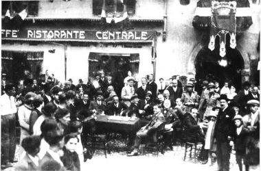 Ristorante Centrale anni 40 Gandino