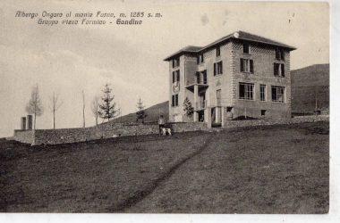 Ristorante Monte Farno nel 1930