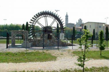 Ruota Vecchio Mulino Parco Nochetto Bolgare
