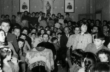 Salone delle suore anni 50 Pontirolo Nuovo
