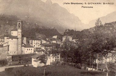 San Giovanni Bianco foto vecchie Paese