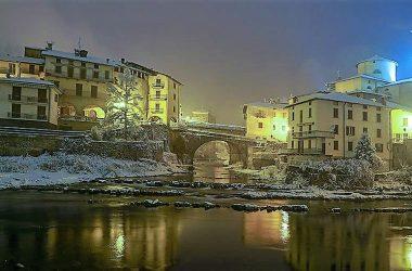 San Giovanni Bianco la sera