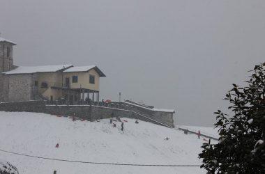 San Gottardo con la neve Cirano di Gandino