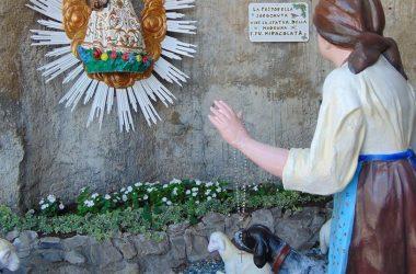 Sant'Omobono Terme Bergamo santuario della Cornabusa del XVI Bergamo