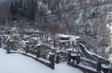 Sant'Omobono Terme con la neve