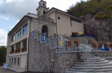 Sant'Omobono Terme santuario della Cornabusa Bg