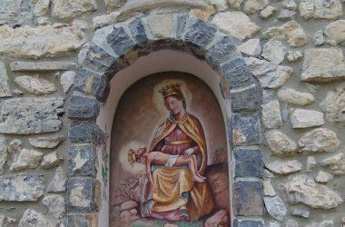 Sant'Omobono Terme santuario della Cornabusa Nicchiajpg