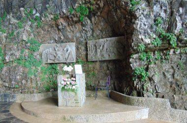 Sant'Omobono Terme santuario della Cornabusa. benedizioni.