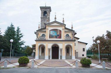 Santuario di Santa Maria Annunciata, nato grazie ad una petizione del 1566.