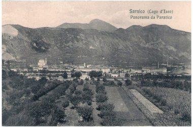 Sarnico Cartoline Postali anni 1900 - 1920