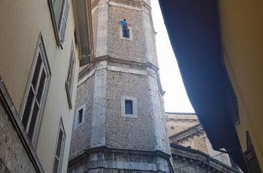 Scalata del campanile a gandino
