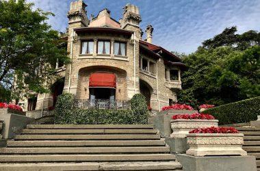 Scalinata Villa Giuseppe Faccanoni 1907 a Sarnico