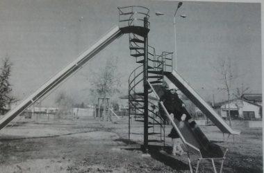 Scivolo del vecchio parco delle piscine metà anni 80 Osio Sotto