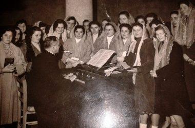 Scuola Canto Ponte San Pietro 1957