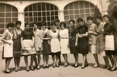 Scuola di cucina Gazzaniga 1965