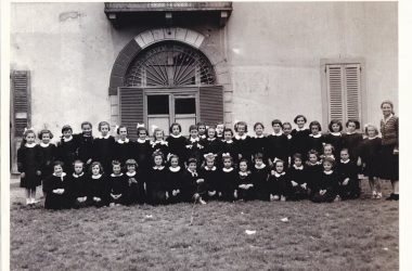 Scuola elementare classe 1948 Bonate Sopra